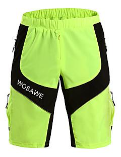 billige Sykkelbukser,Shorts,Strømpebukser, Tights-Herre Sykkel Shorts Pustende Grønn Sykkelklær / Elastisk