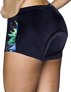 billige Sykkelbukser,Shorts,Strømpebukser, Tights-ILPALADINO Dame Undershorts til sykling / Sykkelshorts Sykkel Shorts / Fôrede shorts / Bunner 3D Pute, Fort Tørring, Anatomisk design