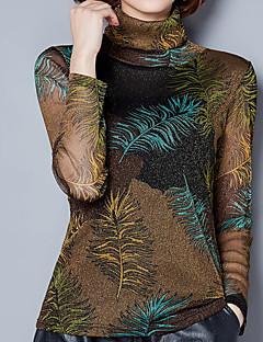 billige T-shirt-Dame - Geometrisk Basale T-shirt