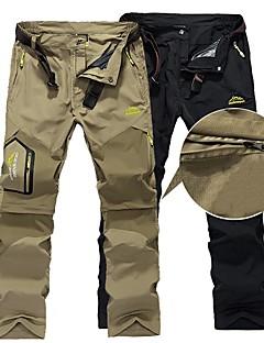 baratos Calças e Shorts para Trilhas-Homens Calças de Trilha Ao ar livre Leve, Secagem Rápida, Respirabilidade Calças Caça / Pesca / Equitação / Micro-Elástica