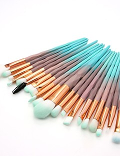 cheap Makeup Brushes-20pcs Makeup Brushes Professional Blush Brush / Eyeshadow Brush / Lip Brush Nylon fiber Full Coverage