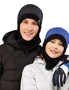 billige Tilbehør-VEPEAL Turcaps Skelett Caps Vindtett Hold Varm Vinter Lilla Unisex Vandring Klatring Ski Lapper Voksne / Fleece / Elastisk / Fleece