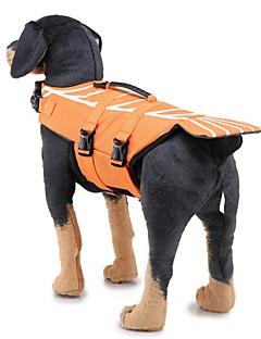 billiga Hundkläder-Hund Livväst Hundkläder Geometrisk / Klassisk Röd / Blå Tyg Kostym För husdjur Herr Unik design / Ledig / Sportig