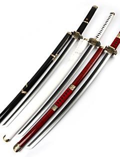 baratos Swords Anime Cosplay-Espada Inspirado por One Piece Roronoa Zoro Anime Acessórios para Cosplay Arma Madeira Todos Dia Das Bruxas / Natal Trajes da Noite das Bruxas