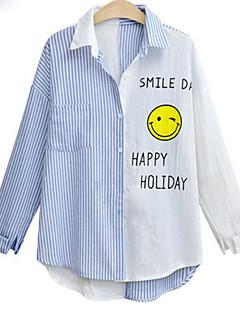 billige Skjorte-Dame - Stribet Basale Skjorte