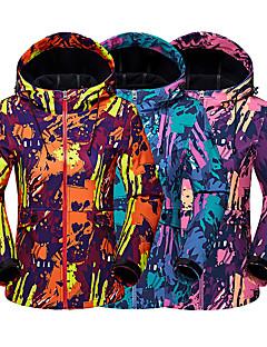 e3b61046042 Women s Camo Hiking Softshell Jacket Outdoor Thermal   Warm Breathable Warm  Winter Softshell Jacket Top Camping   Hiking Hunting Climbing Blue Orange  ...