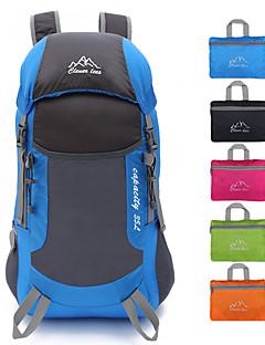 billiga Ryggsäckar och väskor-35 L Ryggsäckar - Lättvikt, Regnsäker, 3D Tablett Utomhus Camping, Strand, Cykel Polyester Fuchsia, Grön, Blå