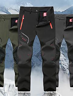 economico Abbigliamento per tempo libero-Per uomo Pantaloni da escursione Esterno Antivento, Asciugatura rapida, Traspirabilità Autunno, Inverno Vello Pantalone / Sovrapantaloni Caccia Pesca Escursionismo XXXL 4XL 5XL / Media elasticità