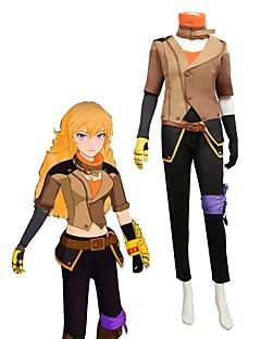 """billige Anime Kostymer-Inspirert av RWBY Cosplay Anime  """"Cosplay-kostymer"""" Cosplay Klær Annen Langermet Other / Frakk / Topp Til Unisex"""