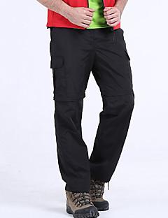 tanie Turystyczne spodnie i szorty-Męskie Spodnie turystyczne Na wolnym powietrzu Szybkie wysychanie, Oddychalność, SPF35 Lato Spodnie, Spodnie przekształcane w szorty Piesze wycieczki Ćwiczenia na zewnątrz Multisport 4XL 5XL 6XL