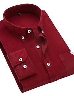 tanie Koszule-Koszula Męskie Podstawowy Solidne kolory