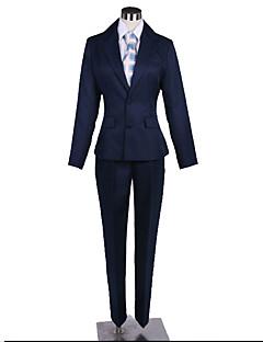 """billige Anime Kostymer-Inspirert av Dramatical Murder Cosplay Anime  """"Cosplay-kostymer"""" Cosplay Klær Ensfarget / Enkel Frakk / Topp / Bukser Til Herre / Dame"""