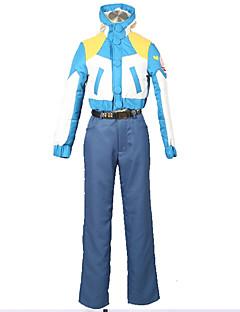 """billige Anime Kostymer-Inspirert av Dramatical Murder Cosplay Anime  """"Cosplay-kostymer"""" Cosplay Klær Ensfarget / Fargeblokk N / A / Topp / Bukser Til Herre / Dame"""