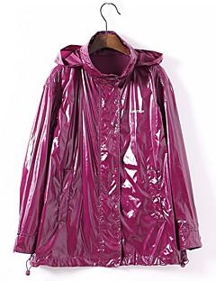billige AW 18 Trends-Trenchcoat - Ensfarget Gatemote Dame