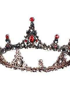 billiga Lolitamode-Svart svan Vintage Elegant Kostym Dam Krona Maskerad Tiaror Silver / Beige / Brun Vintage Cosplay Krom