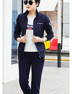baratos Moletons com Capuz e Sem Capuz Femininos-camisola de manga comprida feminina plus size - colar de camisa de cor sólida