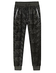 billige Herrebukser-mænds løse sweatpants bukser - camouflage