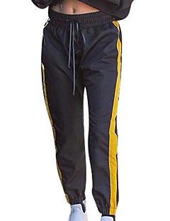 billige Herrebukser og -shorts-Herre Grunnleggende Joggebukser Bukser Ensfarget