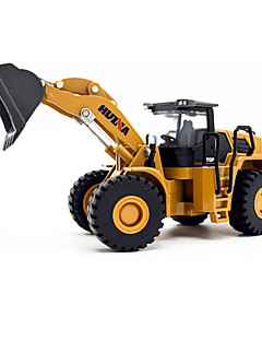 cheap -Construction Truck Set Dozer Excavator Toy Truck Construction Vehicle Toy Car Model Car 1:50 Simulation Metal Alloy Alloy Metal Metal Kid's Unisex Boys' Girls' Toy Gift