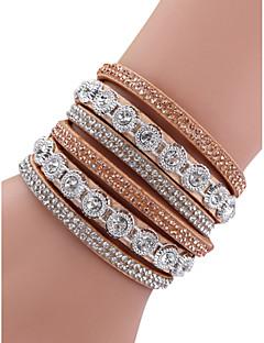 economico I più venduti-Per donna Di tendenza Diamanti braccialetto - Lega Monocolore