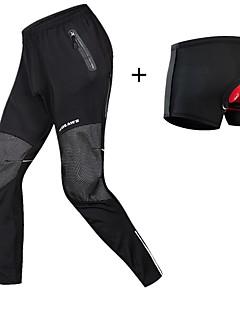 billige Sykkelklær-WOSAWE Undershorts til sykling / Sykkelbukser - Svart Sykkel Vinter