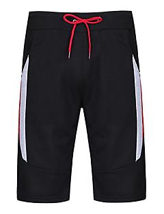 Pantalón chino   pantalón corto delgado para hombre de tamaño asiático -  color sólido negro fbe74d087ce