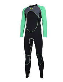 SLINX Men s Full Wetsuit 3mm Diving Suit   Top   Bottoms Quick Dry Long  Sleeve Back Zip Solid Colored   Letter   Number Autumn   Fall   Spring    Summer ... f9039a260
