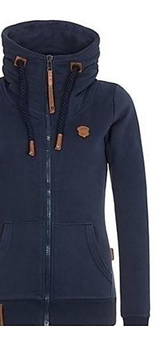 ieftine -Pentru femei Clasic & Fără Vârstă Mărime Plus Size Pantaloni - Mată Bleumarin / Primăvară / Vară / Ieșire / Look Sport