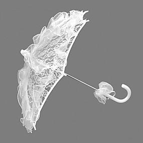 """levne Deštníky-s rukojetí ve tvaru háčku Svatební Deštník Deštníky 58 cm (cca 22,8"""")"""