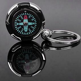 ieftine Oficiul pentru Aprovizionare & Decoratiuni-Personalizate gravate cadou Compass formă Lover keychain