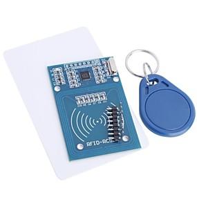 economico Sensori-rfid-rc522 modulo rfid kit rc522 s50 13,56 mhz 6cm con etichette spi write& leggi per raspberry pi