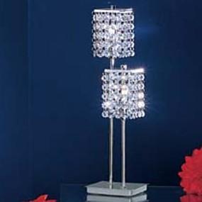 hesapli Masa Lambaları-Modern / Çağdaş Kristal Masa Lambaları Uyumluluk 220-240V / 100-120V Metal