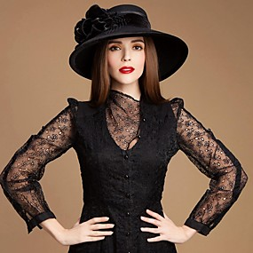 povoljno Kentucky Derby Hat-kape glava s imitacijom biser / rhinestone vjenčanje / party glave