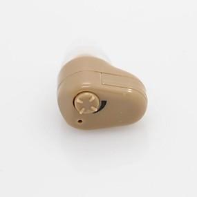 저렴한 건강 & 관리제품-새로운 눈에 보이지 않는 작은 audiphone 개인 최고의 사운드 증폭기 조절 톤 보청기 acousticon