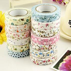 billige Kontor Supply & Dekorasjoner-Nuttet Tekstil Klistremerker & Tape Tekstil