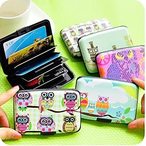ieftine Oficiul pentru Aprovizionare & Decoratiuni-Port carduri - Plastic - Culoare aleatorie - Drăguț/Afacere/Multifuncțional
