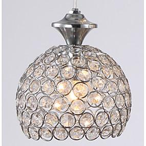 billige Hengelamper-Lysekroner/Anheng Lys Krystall/LED/Mini Stil Moderne / Nutidig/Traditionel / Klassisk/Rustikk/ Hytte/Tiffany/Drum/Globe