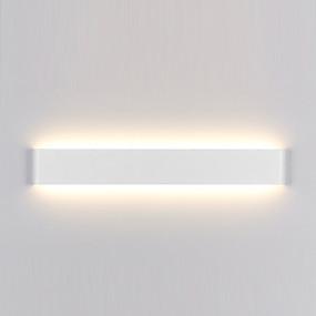 abordables Chandeliers Muraux-minimaliste moderne led lampe en aluminium lampe de chevet salle de bains miroir lumière directe créatif allée