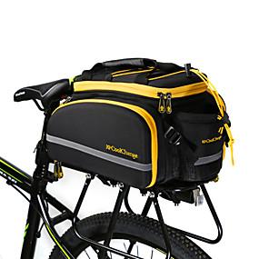 abordables Bolsas Maletero-CoolChange 18 L Bolsa Maletero / Bolsa Lateral Impermeable Listo para vestir Bandas Reflectantes Bolsa para Bicicleta Terileno Bolsa para Bicicleta Bolsa de Ciclismo Ciclismo / Bicicleta