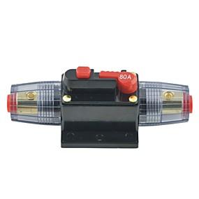 povoljno Auto dijelovi-DC 12V Zaštita 80a auto audio inline osigurač baterije osigurač