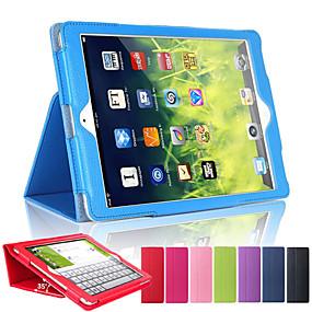 billige Nettbrettilbehør-Etui Til Apple iPad Mini 5 / iPad New Air (2019) / iPad Air med stativ / Autodvale / aktivasjon Heldekkende etui Ensfarget Hard PU Leather / iPad (2017)