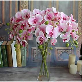 halpa Australian päivä-5kpl real-touch keinotekoisia kukkia orkideat kodin sisustus häät juhla lahja
