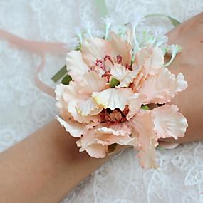 baratos Flores-Bouquets de Noiva Buquês Buquê de Pulso Decoração de Casamento Original Outros Flor Artificial Casamento Ocasião Especial Festa / Noite