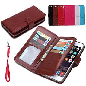 voordelige Telefoons en accessoires-hoesje Voor iPhone 6s Plus / iPhone 6 Plus iPhone 6 Plus Volledig hoesje Hard PU-nahka voor iPhone 6s Plus / iPhone 6 Plus