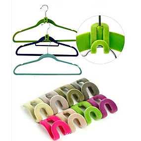 cheap Others-3D Space Saving Hanger Magic Clothes Hanger with Hook Closet Organizer(10PCS)