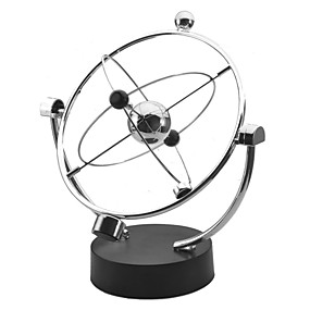 cheap Educational Toys-Kinetic Orbital Perpetual Motion Desk Toy Educational Toy Stress and Anxiety Relief Office Desk Toys Metalic Boys' Girls' Toy Gift 1 pcs