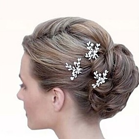 billige Hårtilbehør-Hårspenner hår tilbehør Zirkonium