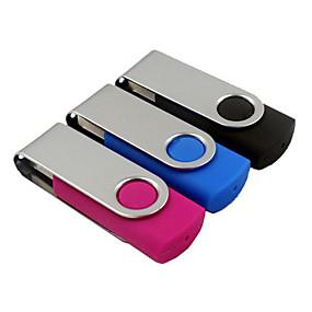 お買い得  -0.5-32GB USBフラッシュドライブ USBディスク USB 2.0 プラスチック 回転