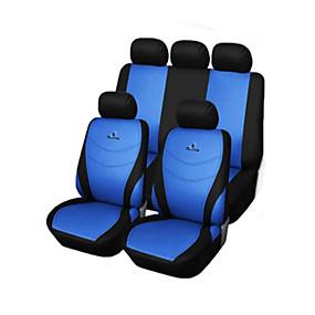economico Accessori per interno auto-Coprisedili per auto Coprisedili Grigio Rosso Blu Tessile Normale