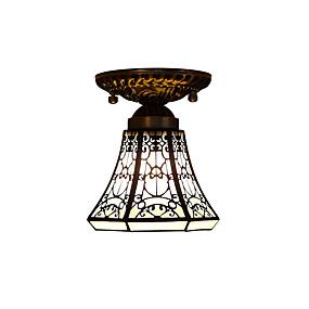 billige Tiffany Lamper-Takplafond Nedlys - LED, designere, 110-120V / 220-240V, Gul, Pære ikke Inkludert / 0-5㎡ / E26 / E27